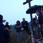 Friedhofsgebet an einem Alten Kreuz