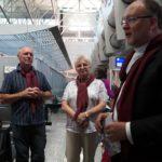 Reisesegen mit Visitator Msgr. Dr. Alexander Hoffmann am Flughafen München
