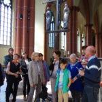 Kirchenführungen im Wohnumfeld und Kirchen, die St. Clemens geweiht sind, mit anschließenden Besprechungen