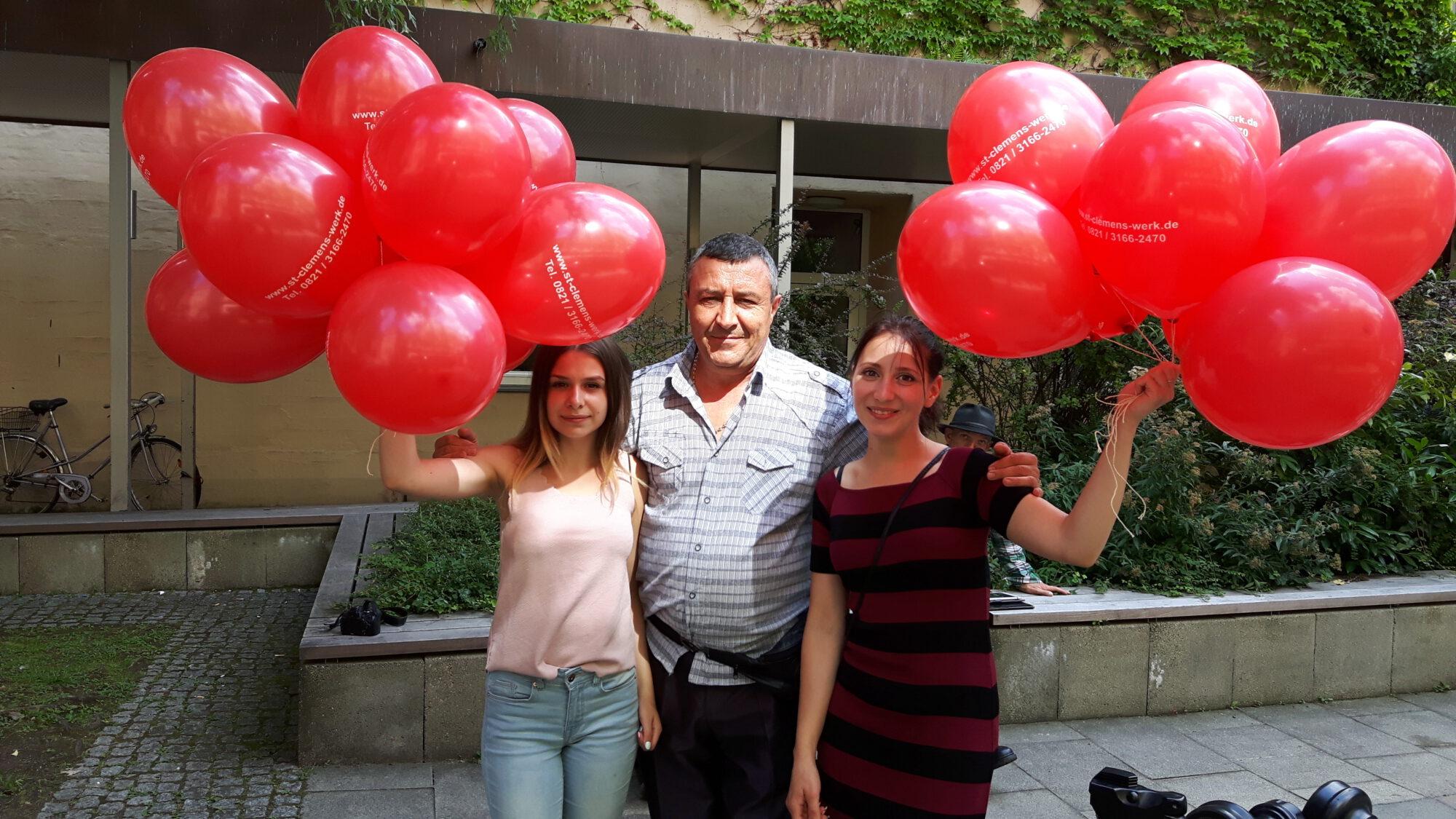 22-07-2017 Luftballonaktion