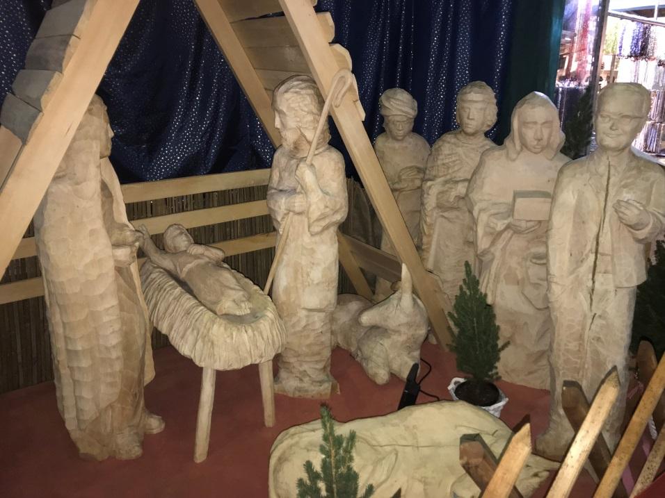Märtyrer an der Krippe
