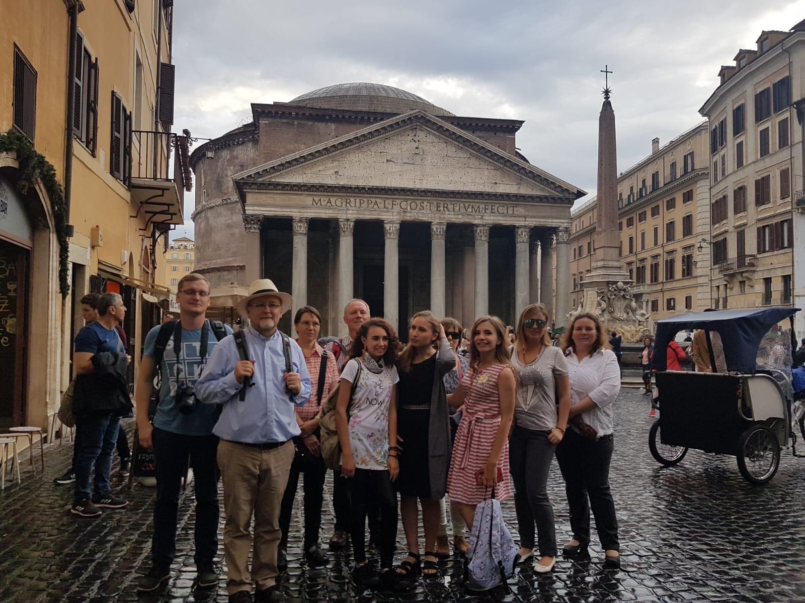 Gruppenbild Rom